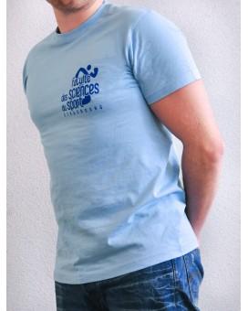 T-Shirt Bleu Taille M