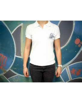 Polo People Blanc Femme