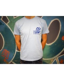 T-shirt bleu (mixte)