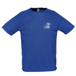 T-Shirt Respirant Bleu - Homme