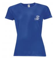T-Shirt Respirant Bleu - Femme